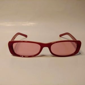 Vintage 90's Rectangle Lady Fashion Sunglasses